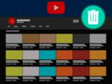 유튜브 채널 삭제 방법
