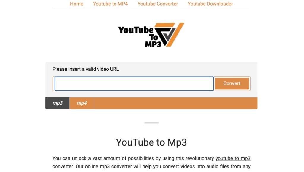 youtubetomp3 사이트