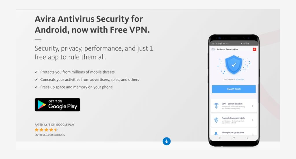 Avira 아비라 팬텀 VPN